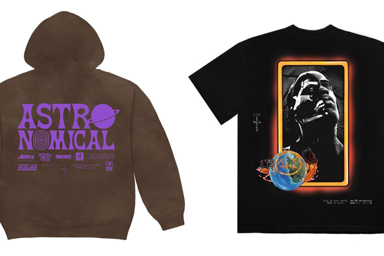 travis scott merchandising fortnite