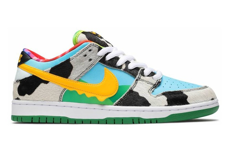 nike sb dunk ben & jerry's resell