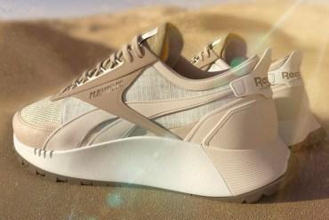 reenok pleasures sneakers collaboration
