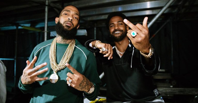 nipsey hussle big sean morceau feat Deep Reverence