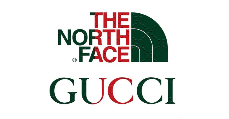 the north face gucci collaboration collection tnf