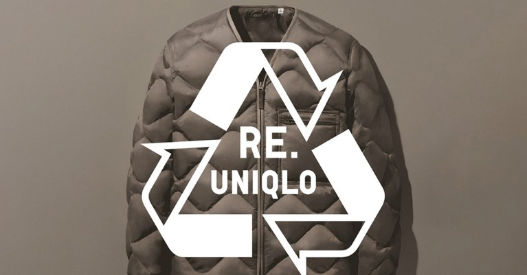 uniqlo recyclage upcycling