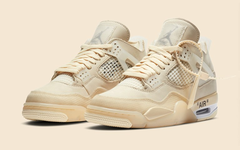 air jordan 4 off-white sneakers stockx resell fake