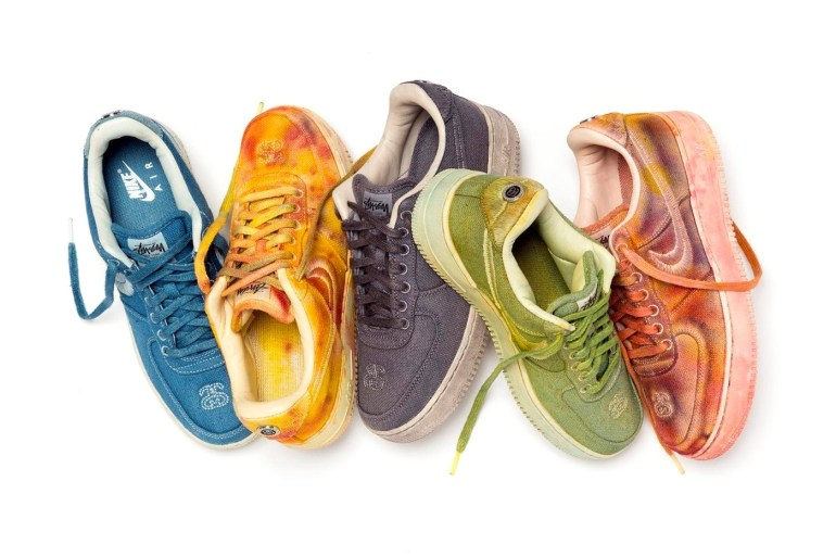 nike stussy sneakers collaboration