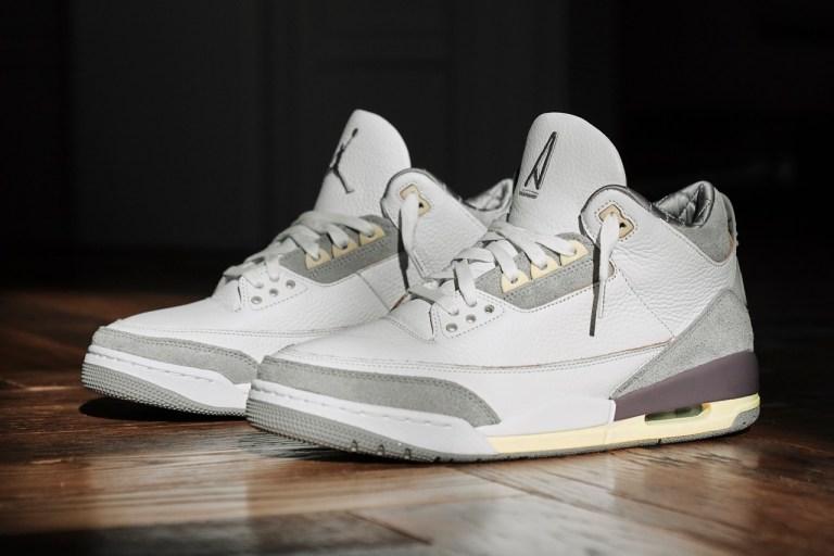 air jordan 3 a ma manière sneakers collaboration