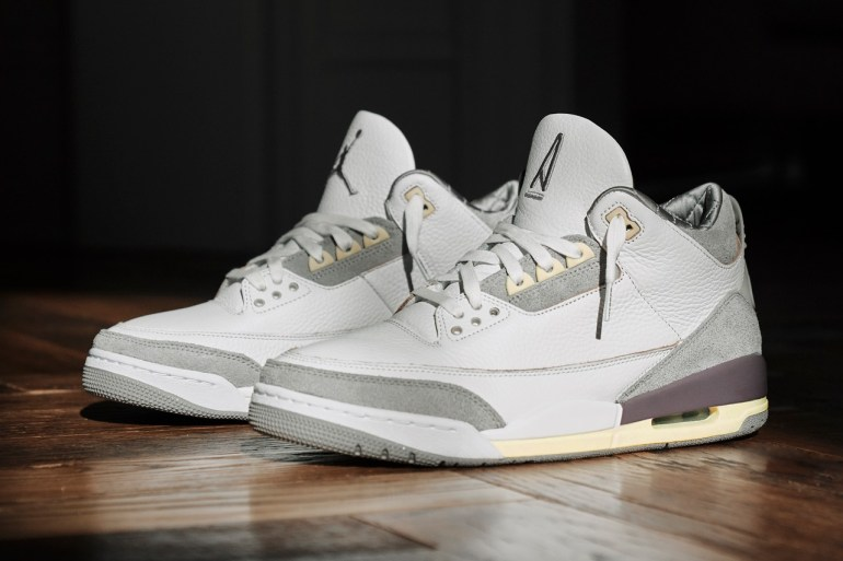 air jordan 3 a ma manière sneakers collaboration