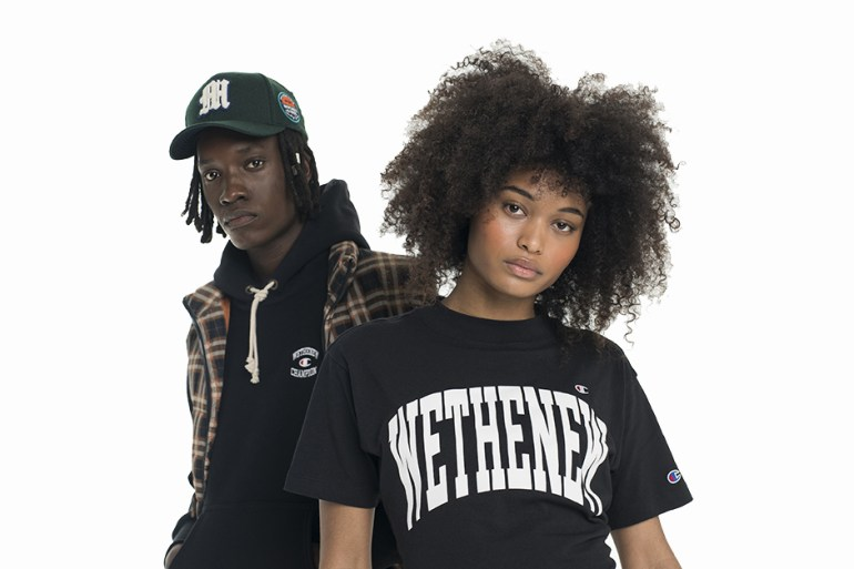 wethenew champion collection capsule collaboration