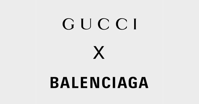 gucci balenciaga collaboration collection