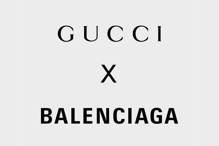 gucci balenciaga collaboration collection