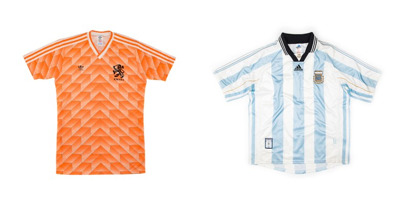sélection maillots vinted vintage retro football