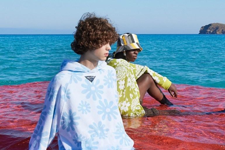 milan fashion week défilés collection prada printemps/été 2022