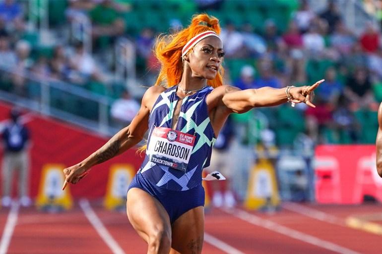 Sha'Carri Richardson athlète marijuana JO