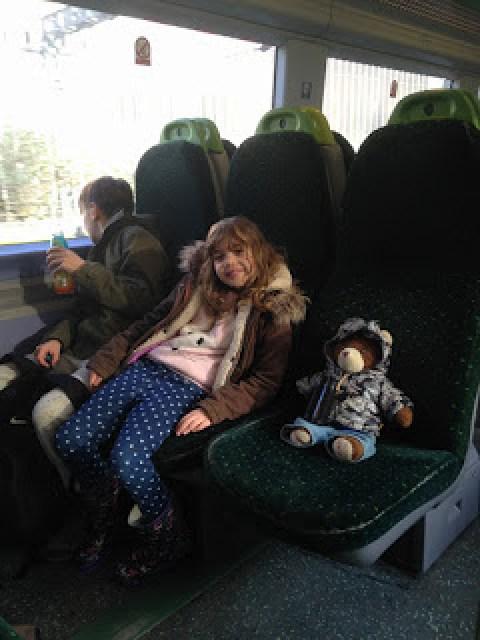 On the train to Purfleet