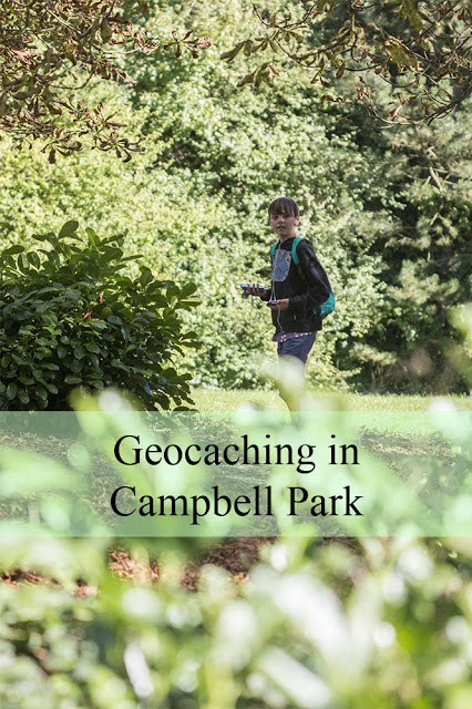 Geocaching in Campbell Park