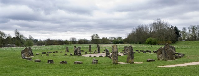 Stone Circle at Willen Lake