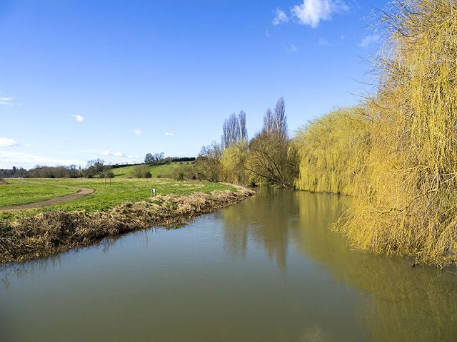 River Ouse in Milton Keynes