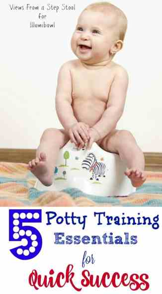 These potty training essentials will make the process a quick success for you and your child!