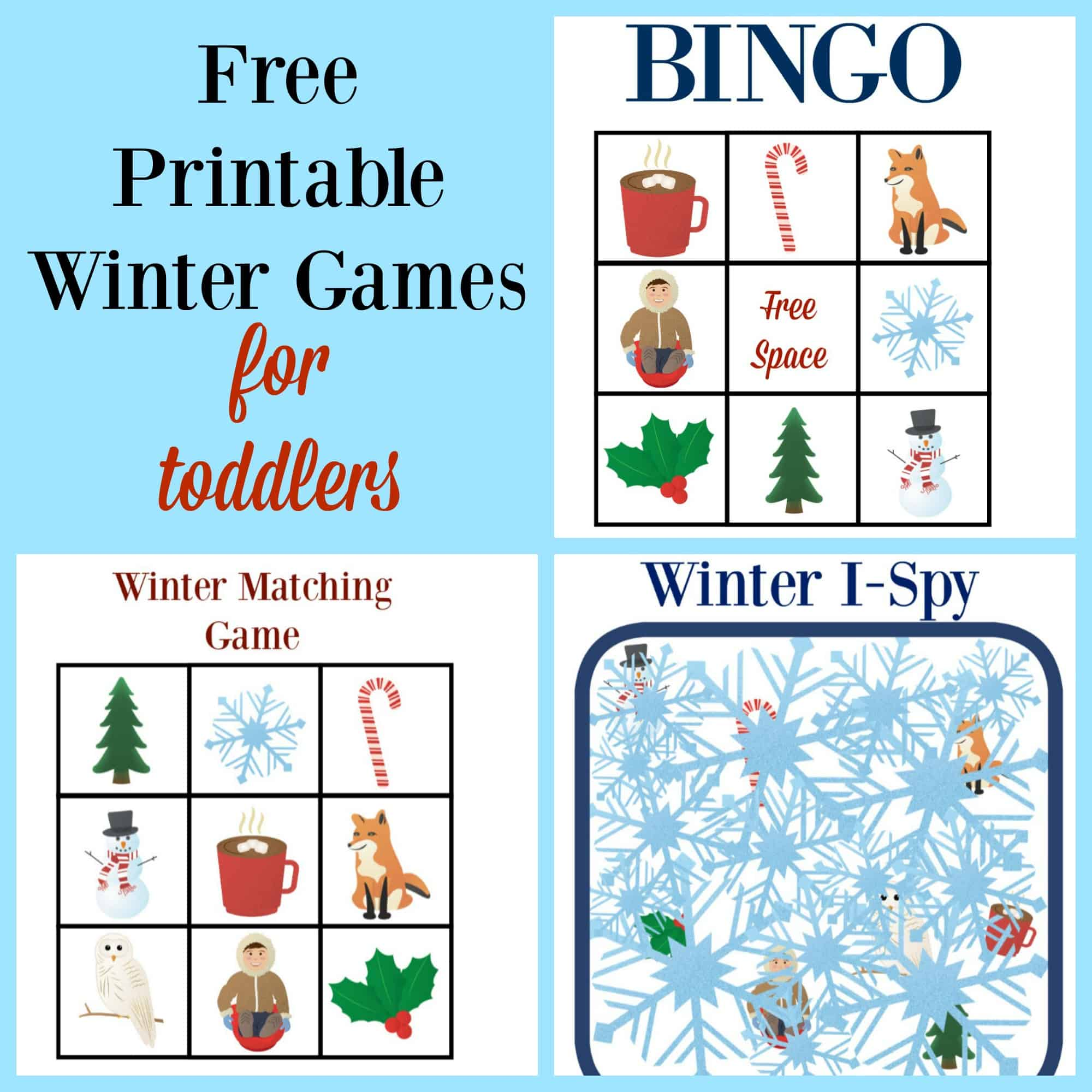 Spring Themed Printable Games For Toddlers And Preschoolers