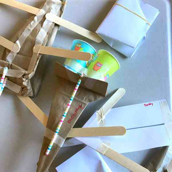 Create Flying Machine Stem Challenge Kids