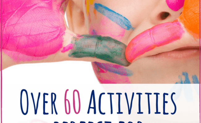 65 Fun Activities For 4 Year Olds Views From A Step Stool