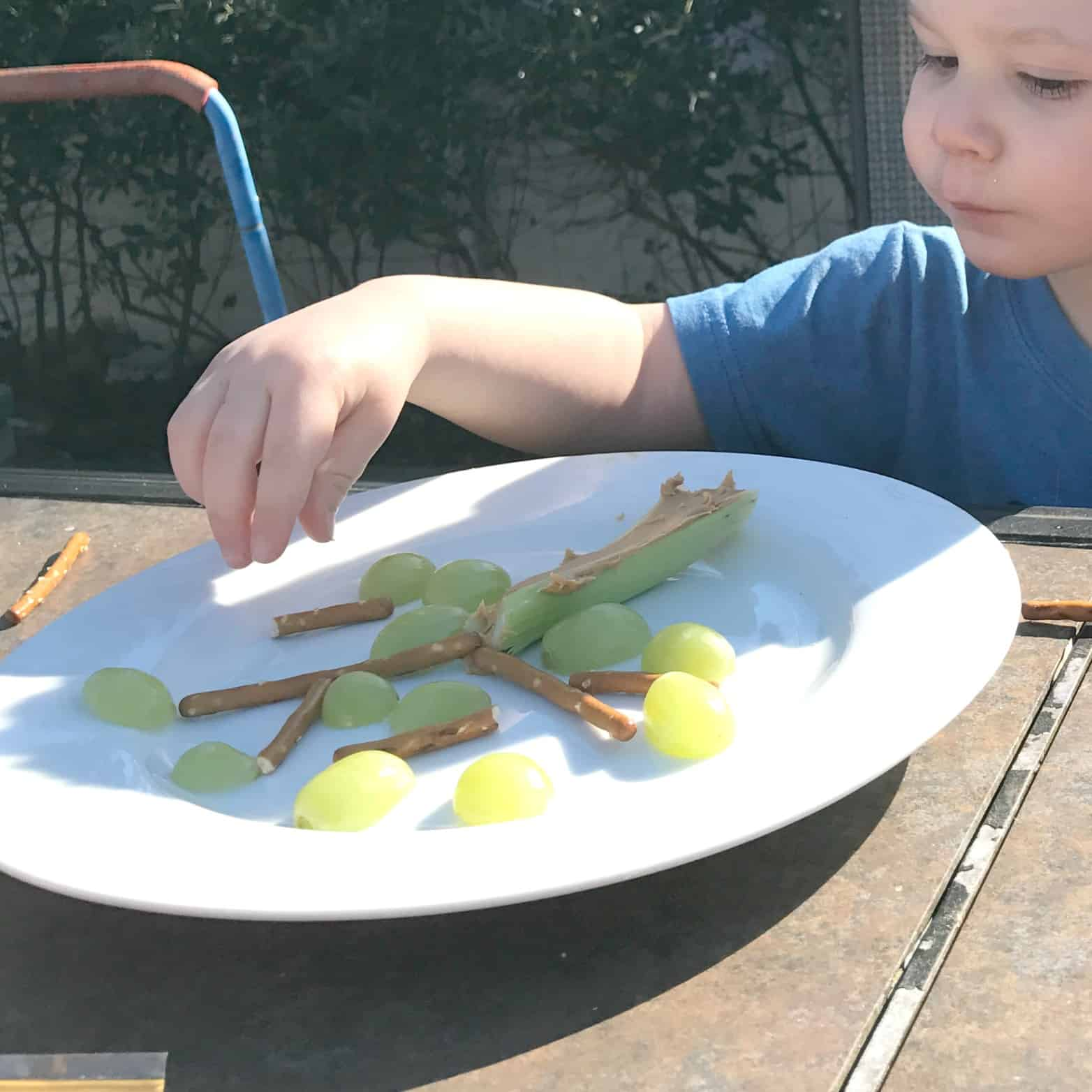 Healthy Forest Tree Snack To Eat With The Gruffalo
