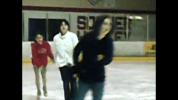 my girls on the ice