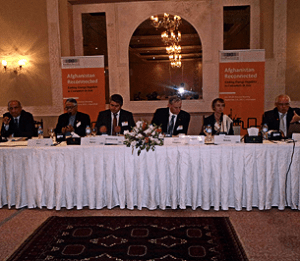 It was one of very few conferences organized by an AMerican think-tank in the Pakistani capital. (Photo via EastWest Institute)