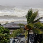 As Tropical Cyclone Phailin made its way over the Bay of Bengal towards the eastern Indian coast on 12 October, with winds recorded at over 200kmph, a massive evacuation exercise was triggered in the coastal Indian states of Odisha and Andhra Pradesh. (Photo via Save the Children)