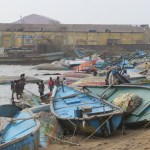 In these coastal areas of Odisha, a substantial portion of the population also earns their day to day living by fishing. As can be seen from this photograph in the port of Gopalpur, which bore the brunt of the storm, many boats now stand damaged, endangering the livelihoods of thousands. (Photo by ADRA India)