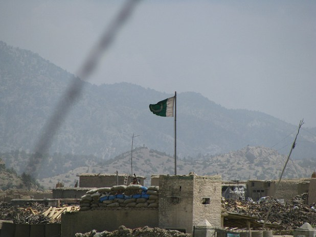 A Pakistani post near the border with Afghanistan. (Photo by by Talk Radio News Service, Creative Commons License)