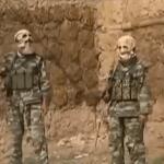 Masked terrorists of Pakistani Taliban.