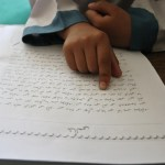 Torwali script. (Photo by Danial Shah via Himal Southasian)