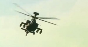 US is selling India 22 Apache attack helicopters. (Photo from video stream)