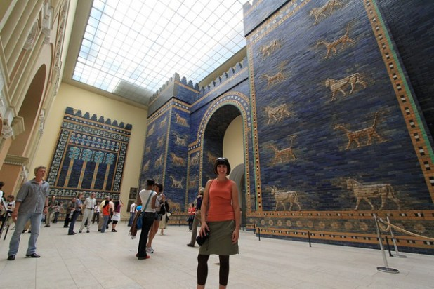 Ishtar Gate at Pergamon Museum - Berlin, Germany. (Photo by To Uncertainty And Beyond, Creative Commons License)