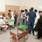 More than 50 percent Pakistani voters exercised their right to vote in May elections.