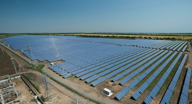 In July 2012, Activ Solar completed 42.95 MW Starkozache power in Odessa Oblast (Ukraine). It will generate enough electricity to power approximately 11,000 households. It is installed over an area of 200 acres and consists of 185,952 multi-crystalline solar modules and 41 inverters. (Photo by Activ Solar, Creative Commons License)