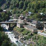 The village of Khaishi, Georgia. (Photo by Aleksey Muhranoff via Wikimedia Commons)