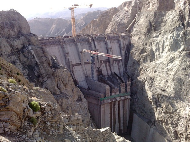 Pakistan has been working on a few dam projects. Gomal Zam Dam in South Waziristan tribal region was completed with U.S. assistance in 2011. (Photo by U.S. Embassy Pakistan)