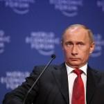 Vladimir Putin at the World Economic Forum. (Photo by World Economic Forum, Creative Commons License)
