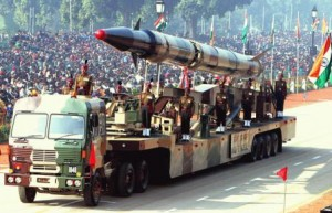 Agni missile. (Photo by  CSIS PONI, Creative Commons License)
