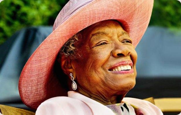 Late Dr Maya Angelou. (Photo via maya
