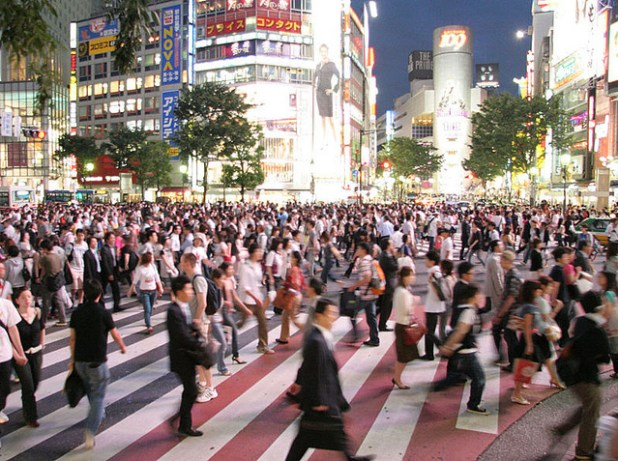 Japan faces an aging and shrinking population. (Photo by Robert Huffstutter, Creative Commons License)