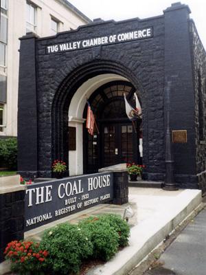 The coalhouse in Williamson, WV. (Photo by BotMultiChillT, via OnEarth)