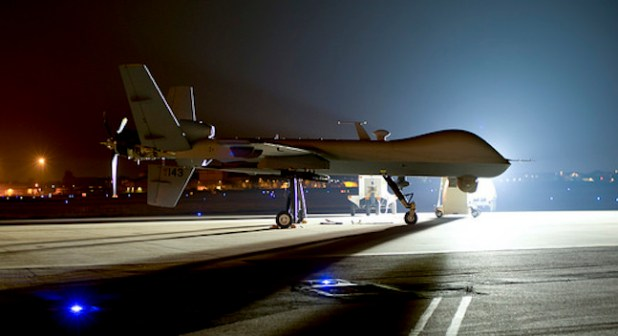 MQ-9 Reaper. (Photo by US Air Force)