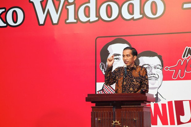 Joko Widodo rose from humble beginnings. (Photo by Hendrik Mintarno, Creative Commons License)