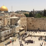 Jerusalem's Western Wall, Dome of the Rock, al Aqsa Mosque. (Photo by Michael-Ann Cerniglia, Creative Commons License)