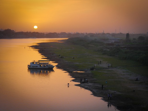 Sunset on the Nile in Khartoum. (Photo by Dan Mason, Creative Commons License)