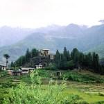 The town of Paro in Bhutan. (Photo by Rita Willaert, Creative Commons License)