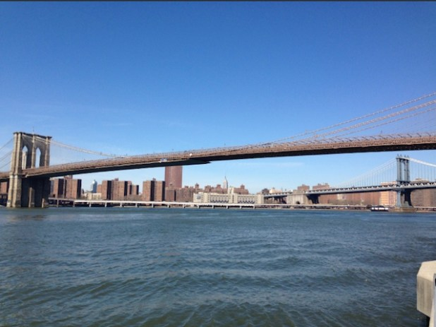 Brooklyn Bridge is one of the oldest in the US, which was completed in 1883. (ViewsWeek photo)