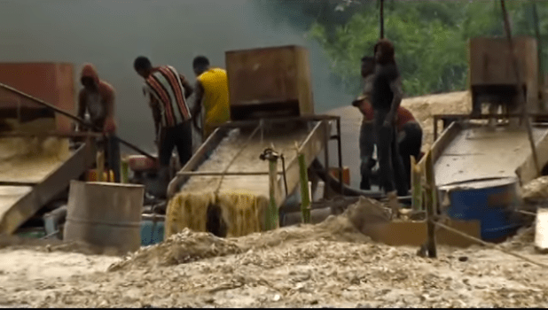 Poisonous chemicals are used in the unregulated mining in Ghana, which is largely driven by poverty.